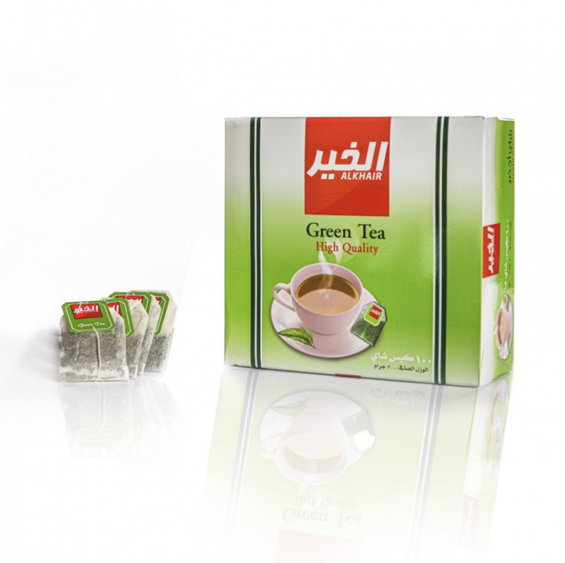 شاي اخضر ٢ جم